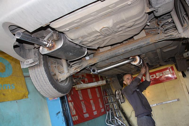 Шевроле нива ремонт глушителя своими руками 58