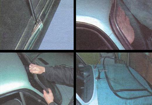 Замена лобового стекла на классике своими руками