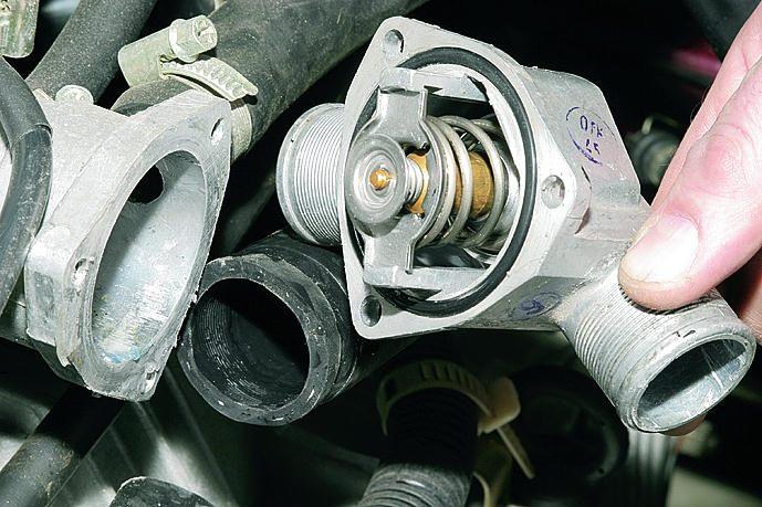 Ремонт термостата ваз 2110 инжектор